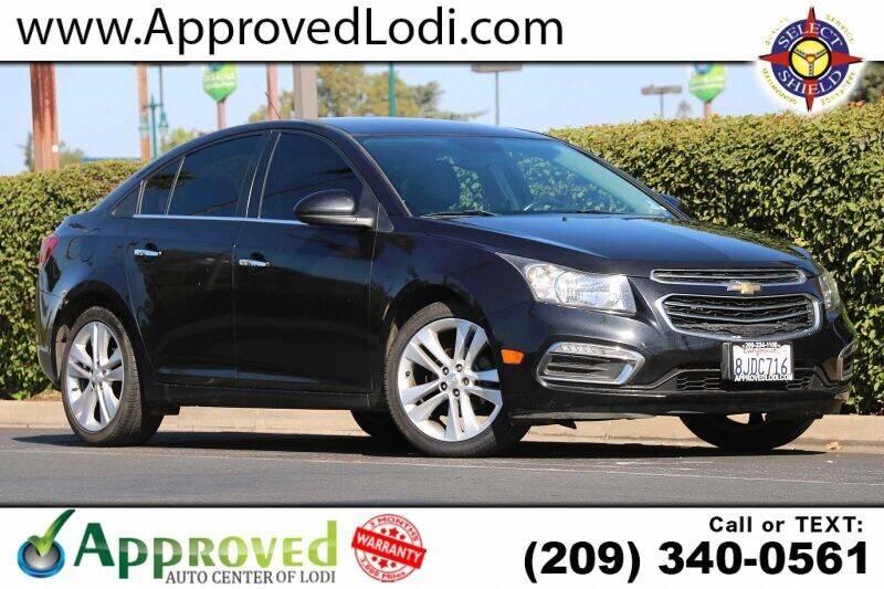 2016 Chevrolet Cruze Limited for sale in Lodi, CA