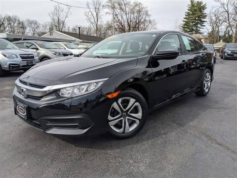 2018 Honda Civic for sale at GAHANNA AUTO SALES in Gahanna OH