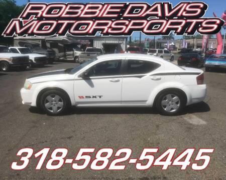 2010 Dodge Avenger for sale at Robbie Davis Motorsports in Monroe LA