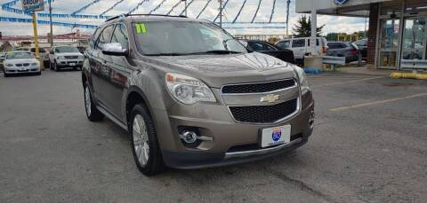 2011 Chevrolet Equinox for sale at I-80 Auto Sales in Hazel Crest IL