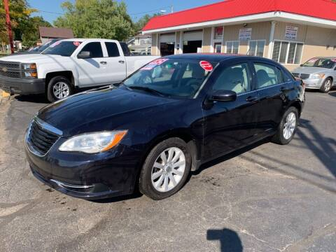 2012 Chrysler 200 for sale at THE PATRIOT AUTO GROUP LLC in Elkhart IN