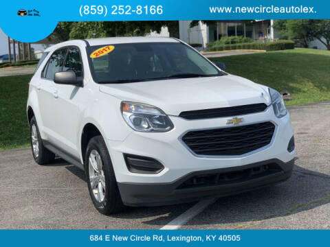 2017 Chevrolet Equinox for sale at New Circle Auto Sales LLC in Lexington KY