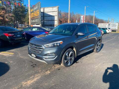 2017 Hyundai Tucson for sale at Affordable Auto Sales in Webster WI