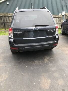 2012 Subaru Forester for sale at GDT AUTOMOTIVE LLC in Hopewell NY