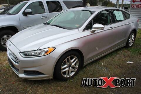 2015 Ford Fusion for sale at Autoxport in Newport News VA