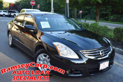 2011 Nissan Altima for sale at Ramsey Corp. in West Milford NJ