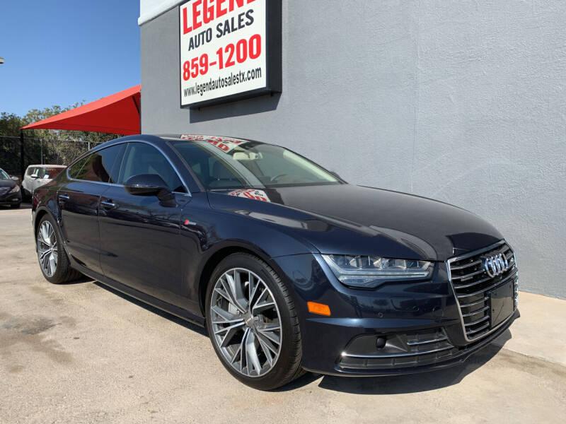 2016 Audi A7 for sale at Legend Auto Sales in El Paso TX