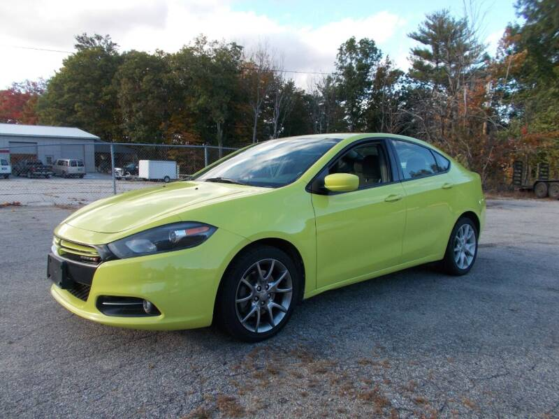 2013 Dodge Dart for sale at Manchester Motorsports in Goffstown NH