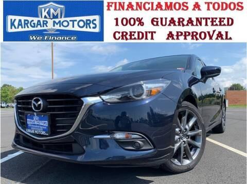 2018 Mazda MAZDA3 for sale at Kargar Motors of Manassas in Manassas VA