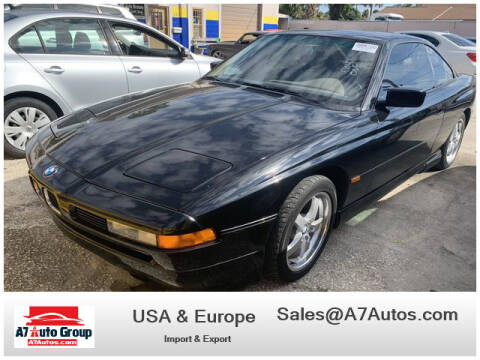 1995 BMW 8 Series for sale at A7 AUTO SALES in Holly Hill FL