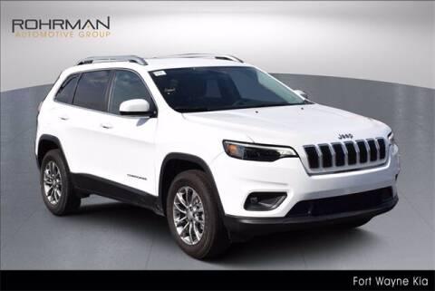 2020 Jeep Cherokee for sale at BOB ROHRMAN FORT WAYNE TOYOTA in Fort Wayne IN