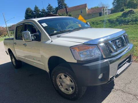2006 Nissan Titan for sale at Trocci's Auto Sales in West Pittsburg PA