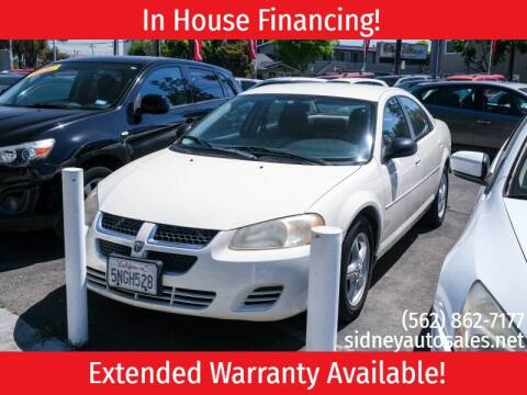 2005 Dodge Stratus for sale at Sidney Auto Sales in Downey CA