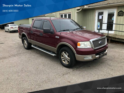 2005 Ford F-150 for sale at Sharpin Motor Sales in Columbus OH