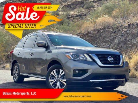 2017 Nissan Pathfinder for sale at Baba's Motorsports, LLC in Phoenix AZ
