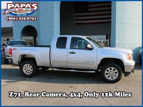 2012 GMC Sierra 2500HD for sale at Papas Chrysler Dodge Jeep Ram in New Britain CT