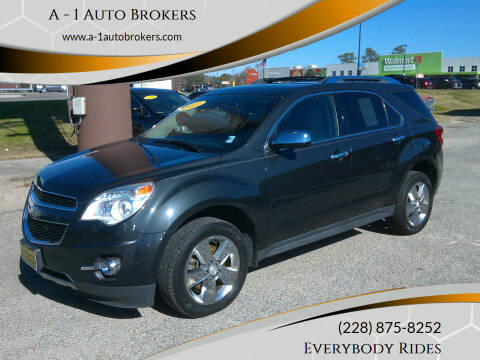 2013 Chevrolet Equinox for sale at A - 1 Auto Brokers in Ocean Springs MS