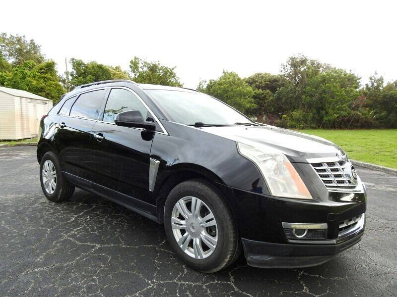 2013 Cadillac SRX for sale at SUPER DEAL MOTORS 441 in Hollywood FL