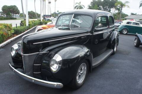 1940 Ford Deluxe for sale at Dream Machines USA in Lantana FL