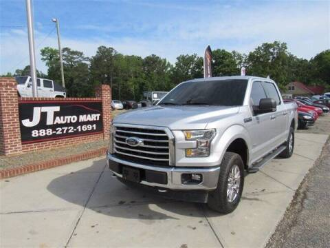 2017 Ford F-150 for sale at J T Auto Group in Sanford NC