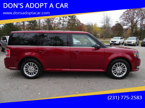 2014 Ford Flex for sale at DON'S ADOPT A CAR in Cadillac MI