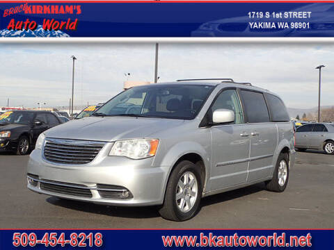 2012 Chrysler Town and Country for sale at Bruce Kirkham Auto World in Yakima WA