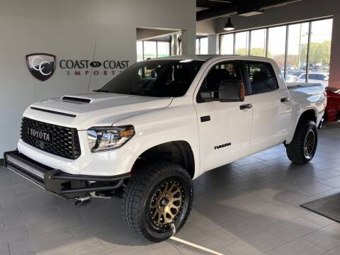 2019 Toyota Tundra for sale at Coast to Coast Imports in Fishers IN