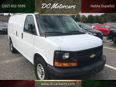 2013 Chevrolet Express Cargo for sale at DC Motorcars in Springfield VA