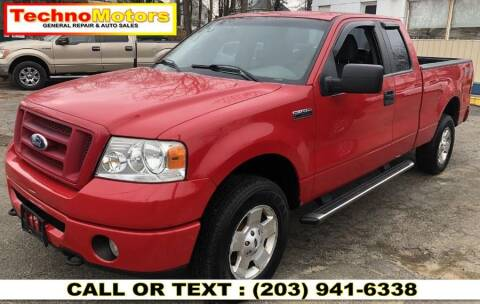 2007 Ford F-150 for sale at Techno Motors in Danbury CT