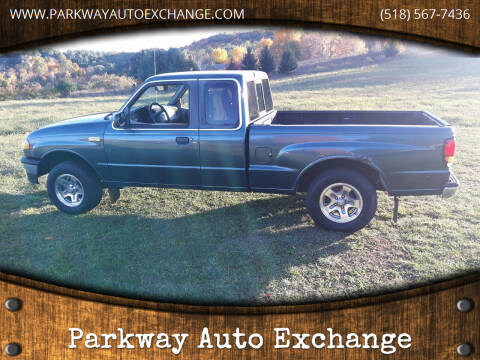1999 Mazda B-Series Pickup for sale at Parkway Auto Exchange in Elizaville NY