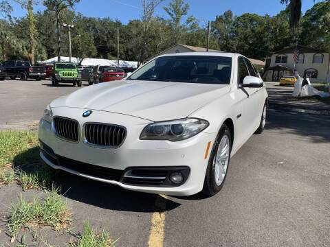 2015 BMW 5 Series for sale at REDLINE MOTORGROUP INC in Jacksonville FL