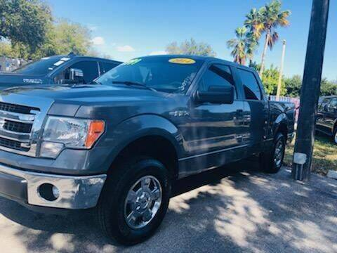 2014 Ford F-150 for sale at DAN'S DEALS ON WHEELS in Davie FL