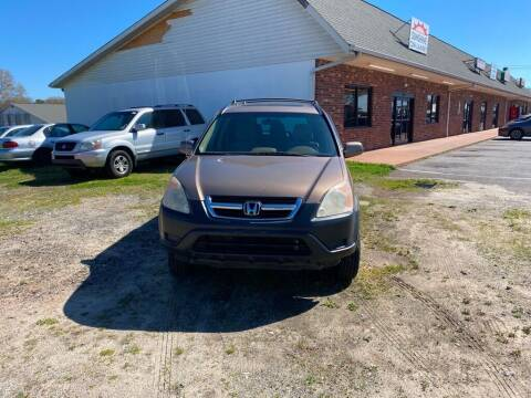 2004 Honda CR-V for sale at S & H AUTO LLC in Granite Falls NC