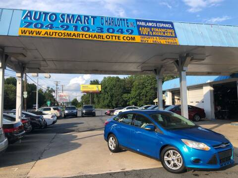 2013 Ford Focus for sale at Auto Smart Charlotte in Charlotte NC