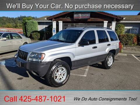 2004 Jeep Grand Cherokee for sale at Platinum Autos in Woodinville WA
