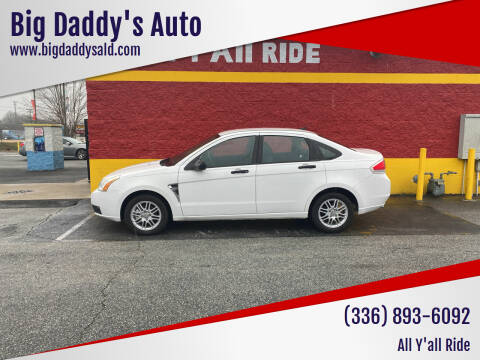 2008 Ford Focus for sale at Big Daddy's Auto in Winston-Salem NC