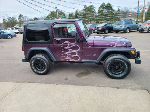2000 Jeep Wrangler for sale at Rum River Auto Sales in Cambridge MN