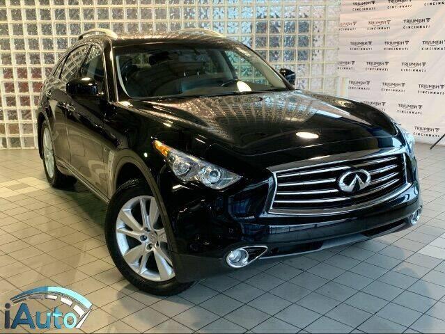 2014 Infiniti QX70 for sale at iAuto in Cincinnati OH