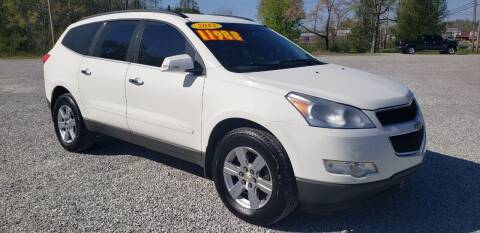 2012 Chevrolet Traverse for sale at COOPER AUTO SALES in Oneida TN