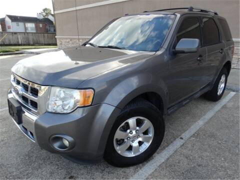 2012 Ford Escape for sale at Abe Motors in Houston TX