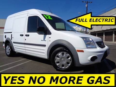 2012 Ford Transit Connect Electric for sale at ALL STAR TRUCKS INC in Los Angeles CA