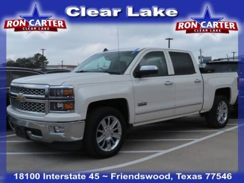 2014 Chevrolet Silverado 1500 for sale at Ron Carter  Clear Lake Used Cars in Houston TX