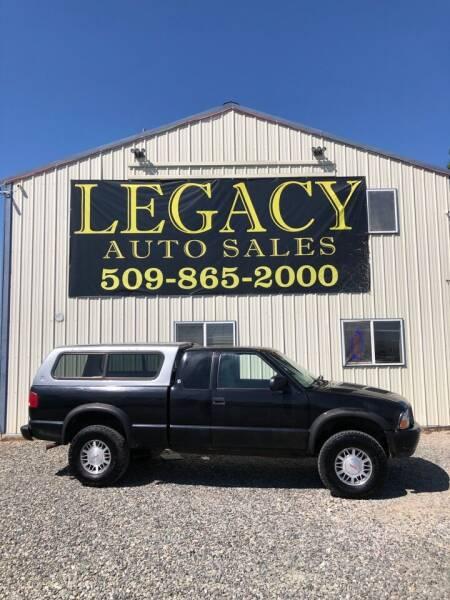 2000 GMC Sonoma for sale at Legacy Auto Sales in Toppenish WA