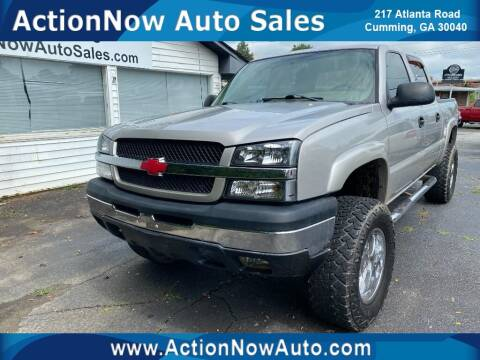 2005 Chevrolet Silverado 1500 for sale at ACTION NOW AUTO SALES in Cumming GA