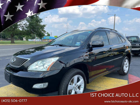 2007 Lexus RX 350 for sale at 1st Choice Auto L.L.C in Oklahoma City OK