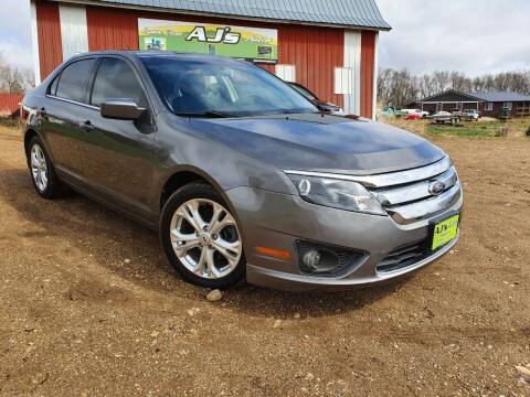 2012 Ford Fusion for sale at AJ's Autos in Parker SD