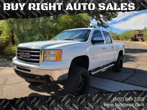 2013 GMC Sierra 1500 for sale at BUY RIGHT AUTO SALES in Phoenix AZ