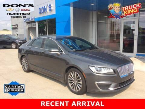 2018 Lincoln MKZ for sale at DON'S CHEVY, BUICK-GMC & CADILLAC in Wauseon OH