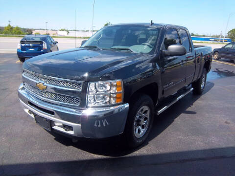 2012 Chevrolet Silverado 1500 for sale at Brian's Sales and Service in Rochester NY