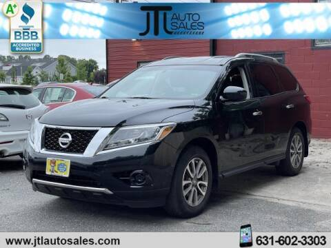 2016 Nissan Pathfinder for sale at JTL Auto Inc in Selden NY